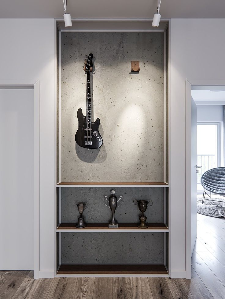 A pair of stylish apartments that put their extra rooms to good use