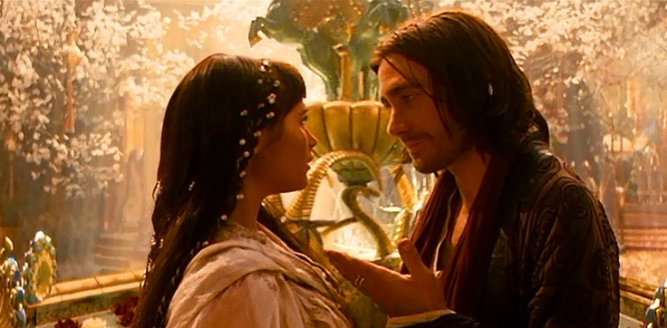 Princess Tamina and Dastan of Prince of Persia ...