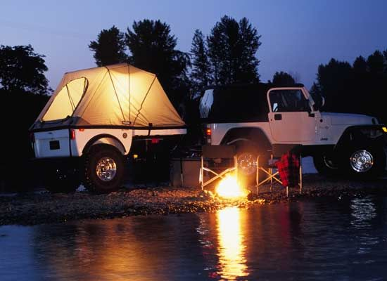 Jeep Trailers, Off Road Trailers, and Backcountry Trailers by Tentrax
