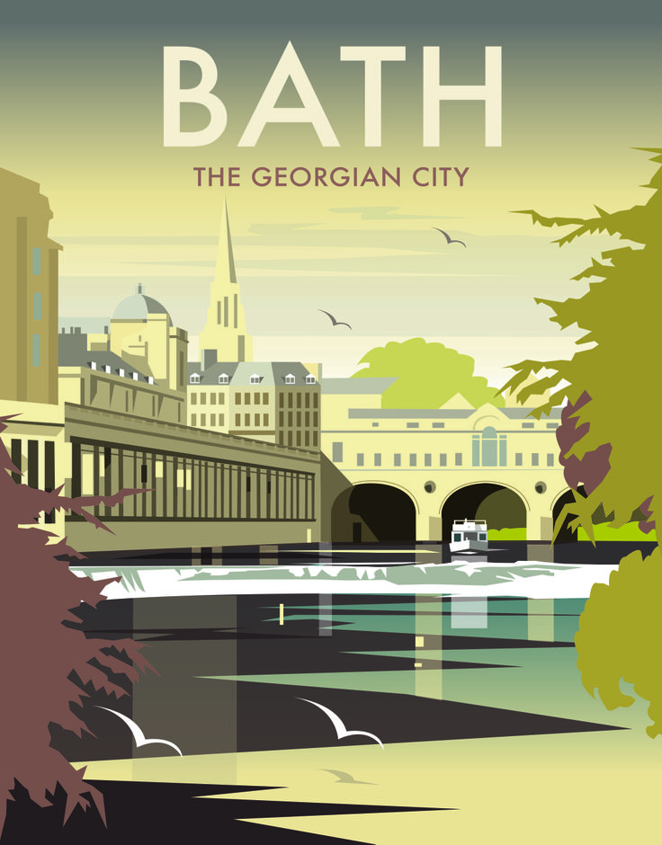 (COMING SOON) Bath 'The Georgian City' by Dave Thompson http://www.thewhistlefish.com/category/prints/?keywords=&Artist=Dave+Thompson&perPage=24&sort=Display+Order