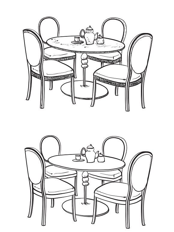 Dinner Table Furniture Sketch With Images Furniture Sketch