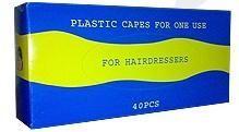 Μπέρτες Κομμωτηρίου διάφανες μίας χρήσης, διαστάσεων 80x120cm σε κουτί    40 μπέρτες το κάθε πακέτο    20 πακέτα το κιβώτιο