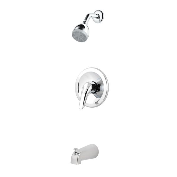 Pfister Polished Chrome 1 Handle Tub And Shower Valve Included