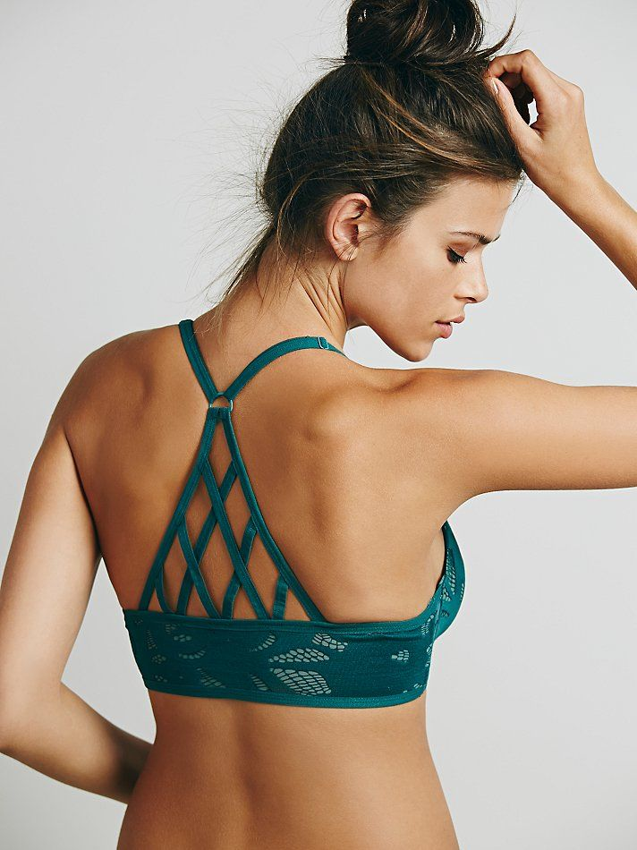 Intimately Eyelet My Heart Underwire at Free People Clothing Boutique