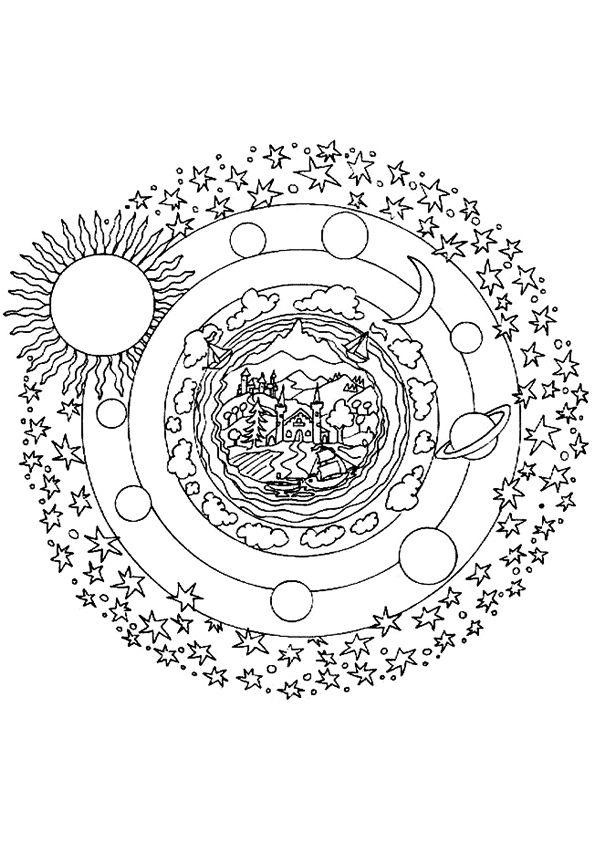 25 Beste Ideeen Over Mandala Kleurplaten Op Pinterest
