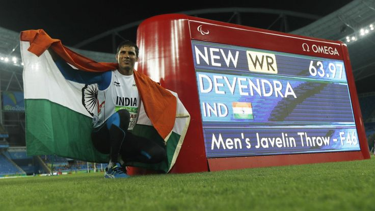 Rio Paralympics 2016: Devendra Jhajharia wins Gold in Javelin Throw for India