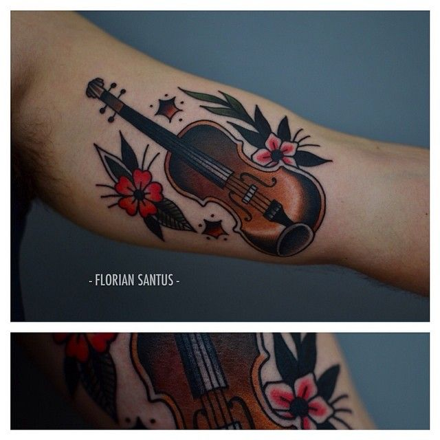 25+ Best Ideas About Violin Tattoo On Pinterest