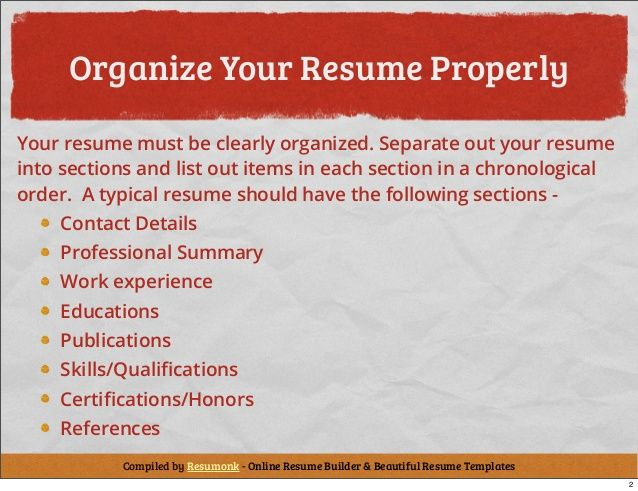 Need Help with your resume? Check this out