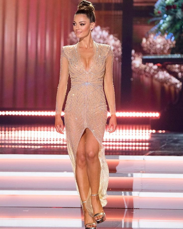 Demi-Leigh Nel-Peters Miss Universe 2017 Miss South Africa Evening Gown Competition