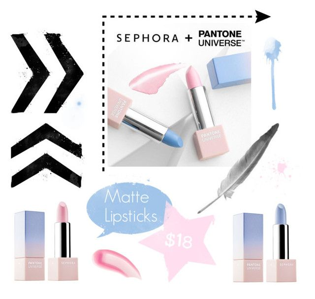 """""""Sephora Lipsticks"""" by kayleighbrock ❤ liked on Polyvore featuring beauty, Sephora Collection and Chantecaille"""