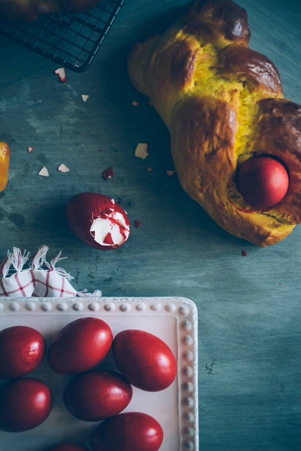 Greek Easter specialities.