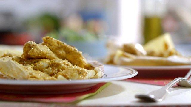 Papillotes de poulet au cari | Cuisine futée, parents pressés