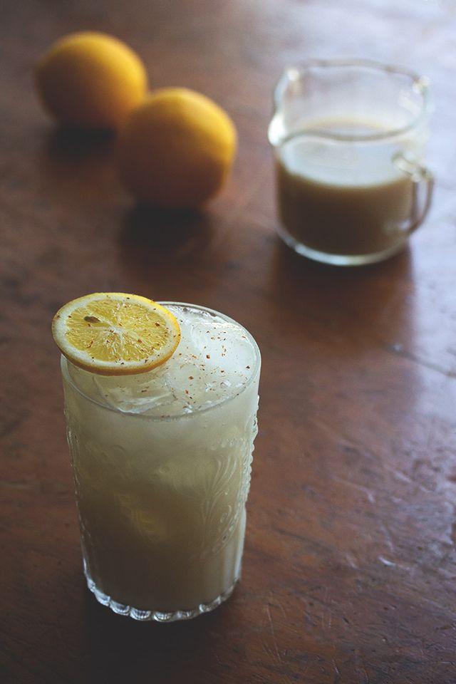 Coconut Chai Lemonade // HonestlyYUM