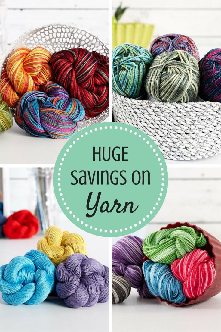 Your yarn stash is calling! Craftsy is offering all your favorite yarn brands…