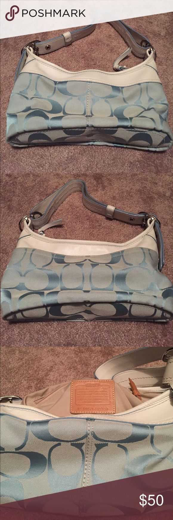 Authentic Coach purse - price reduced! Barely used in excellent condition!! Make me an offer!! Coach Bags Shoulder Bags