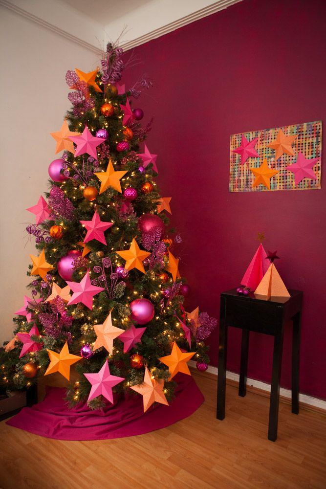 decoración de papel para Navidad
