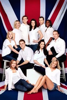 GB Olympic team Vogue shoot