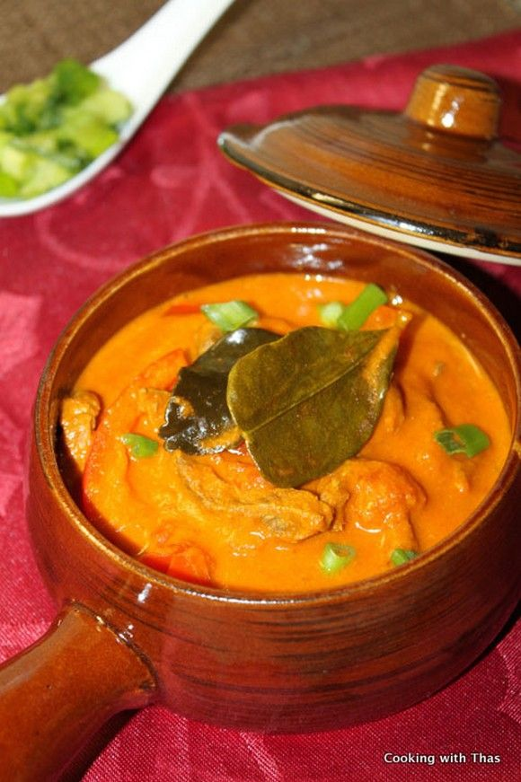 Panang curry with Beef recipe by Cooking with Thas