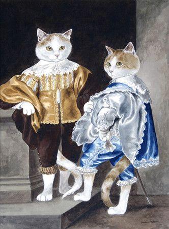 """Van Dyck's """"John and Bernard"""" (Lord John Stuart & Lord Bernard Stuart) by Susan Herbert"""