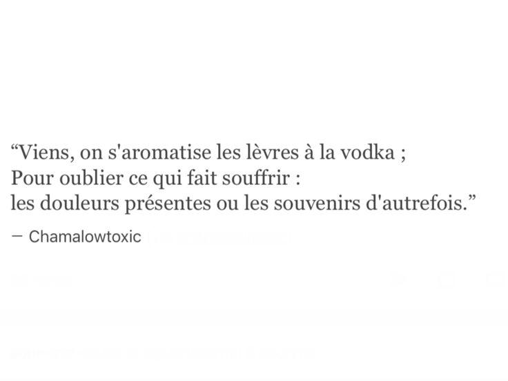 Nos vodkas me manquent aussi