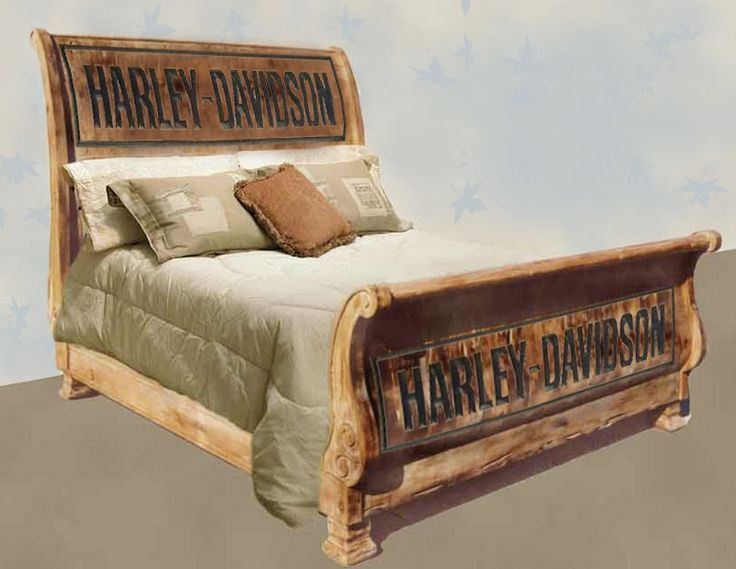 Harley davidson furniture harley bedroom furniture for Fevicol bed furniture design