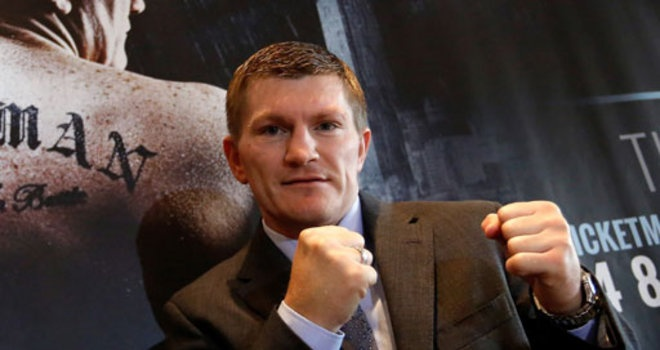 Ricky Hatton: Will reveal his comeback opponent on Friday