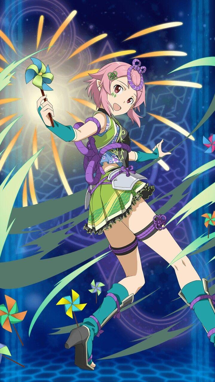 Lisbeth Sword art online asuna, Sword art online, Sword art