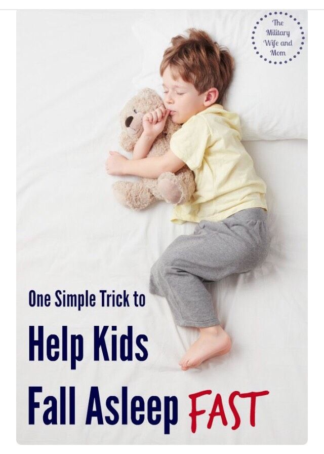 ONE SIMPLE TRICK TO HELP KIDS FALL ASLEEP FAST!#Parenting#Trusper#Tip