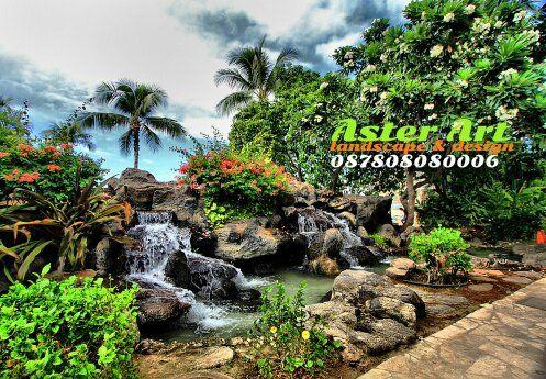 kolam batu kali | taman jepang, kolam air, kolam ikan koi