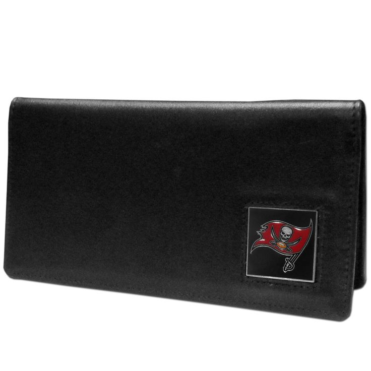 "Checkout our #LicensedGear products FREE SHIPPING + 10% OFF Coupon Code ""Official"" Tampa Bay Buccaneers Leather Checkbook Cover - Officially licensed NFL product Licensee: Siskiyou Buckle Genuine fine grain leather Fits top and side loaded checkbooks Plastic sleeve for duplicate check writing Metal Tampa Bay Buccaneers emblem with enameled team colors - Price: $22.00. Buy now at https://officiallylicensedgear.com/tampa-bay-buccaneers-leather-checkbook-cover-fnc030bx"