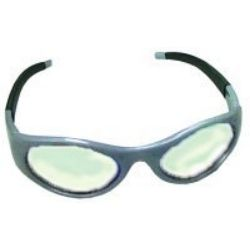 Stingers High Impact Safety Glasses - Silver Frames/Clear Lens