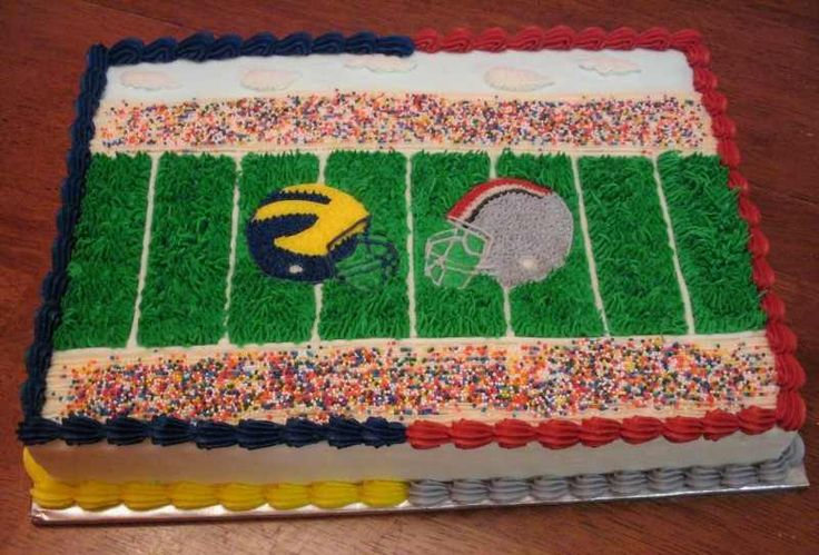 Ohio State Michigan Cake Party Ideas Pinterest Ohio