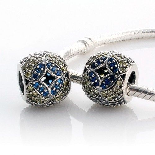Synthetic Birthstone Yellow CZ 925 Sterling Silver Beads Fashion Jewellery Charms Fit European Bracelet Lu2gZO