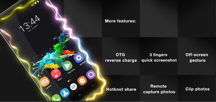 OUKITEL K6000 Pro 5.5-inch 6000mAh Fingerprint 3GB RAM MT6753 Octa-core 4G Smartphone