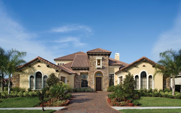 17 best images about exteriors florida on pinterest for Custom home plans florida