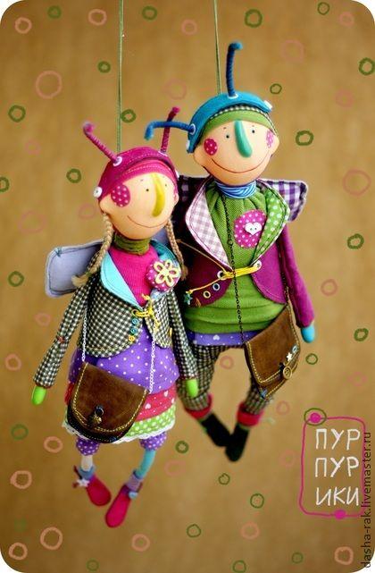 Коллекционные куклы ручной работы. Ярмарка Мастеров - ручная работа Пурпурики. Handmade.