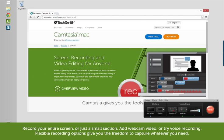 14 Free Camtasia Studio 8 Video Tutorials About Audio, Captions, Interaction, and Other Concepts. Camtasia Studio 8 is a well known and widely used tool