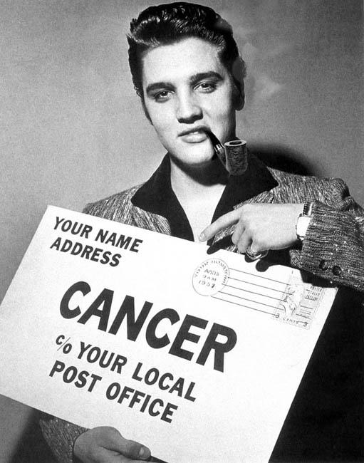 Elvis Aaron Presley, pipe smoker and humanitarian