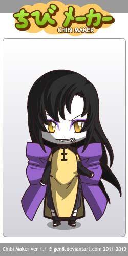 Orochimaru (Naruto) Chibi Maker