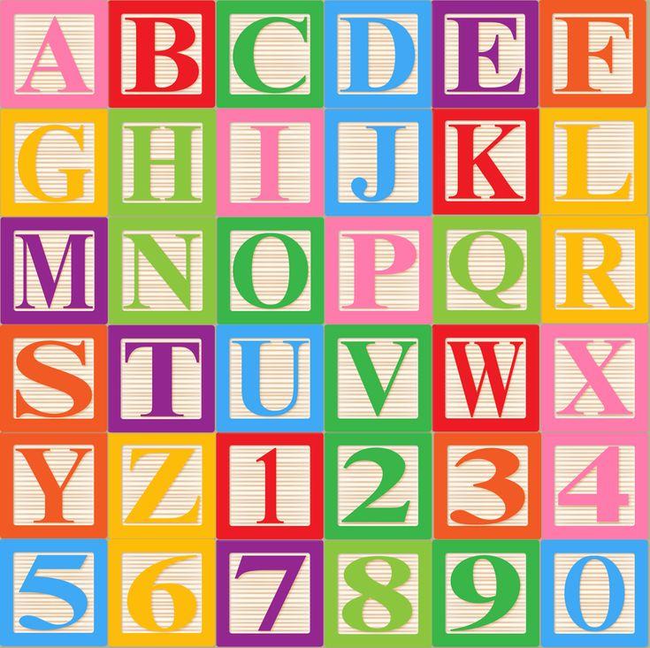 Baby Block Alphabet