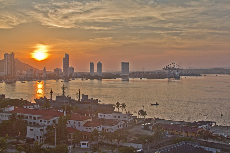 Cartagena Sunrise #colombia