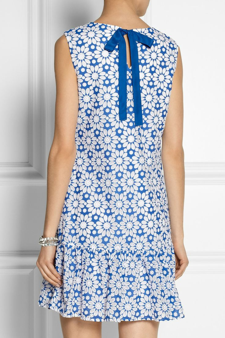 Collette by Collette Dinnigan | Sunflower cotton-blend lace dress | NET-A-PORTER.COM