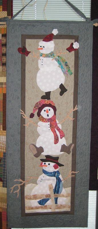 .Snowmen Quilt