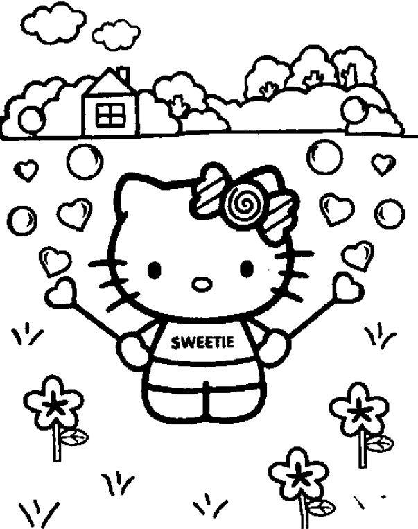 125 besten Valentines Day Coloring Bilder auf Pinterest | Malbücher ...