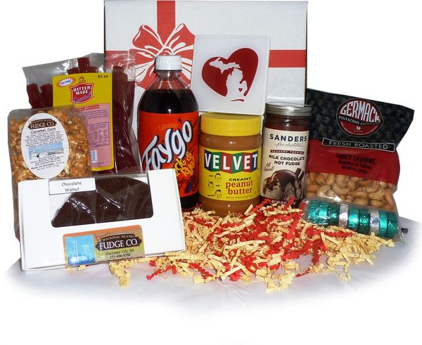 michigan gift baskets detroit food gifts foods pride state faygo bags shower mania