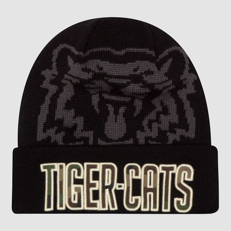 HAM Tiger-Cats Brandon Banks New Era Player Inspired Series Knit Toque. Show support for your Hamilton Tiger-Cats in style with the third installment of New Era's annual Player Inspired Series, this New Era Knit Toque was designed by Brandon Banks who was asked to design a toque that represents himself, the team, and the fans of the Hamilton Tiger-Cats.
