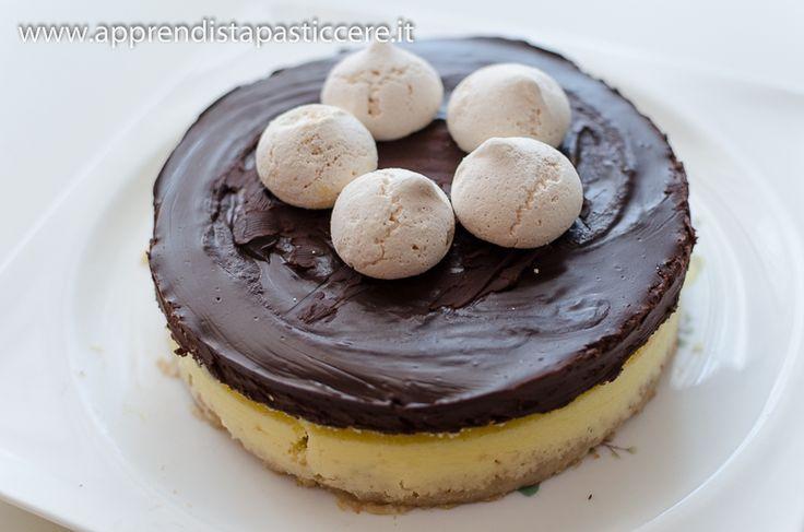 Cheese cake al cioccolato di Montersino