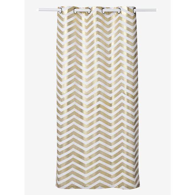 17 meilleures id es propos de rideaux rayures sur pinterest rideaux blancs noirs rideaux - Rideau campagnard ...