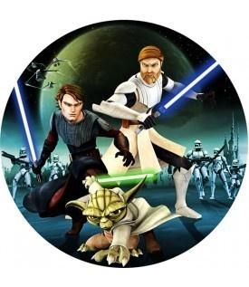 Tortenaufleger Motiv Star Wars / Clone Wars 2