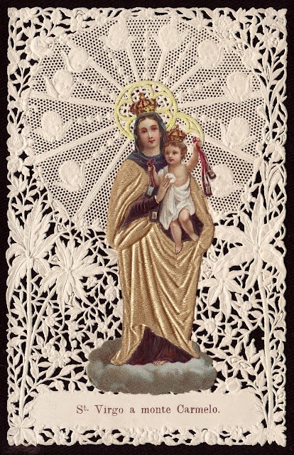 July Holy Cards